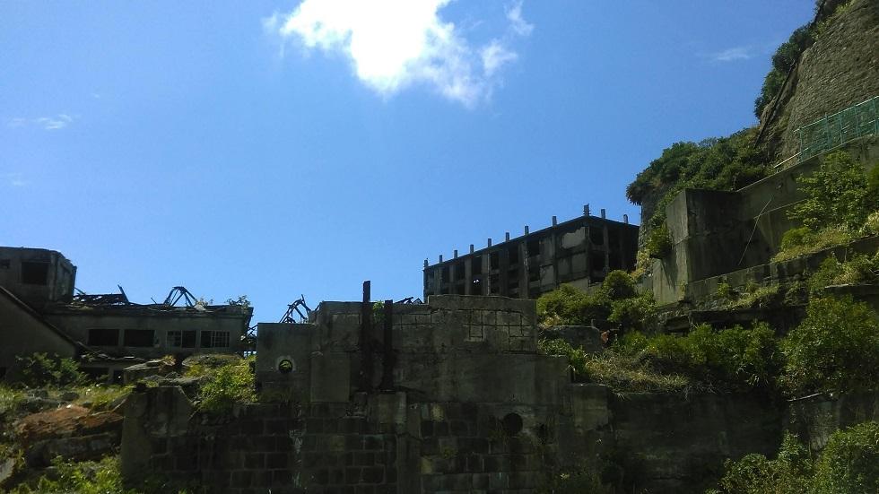 軍艦島見学場所1