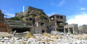 軍艦島第2見学場所
