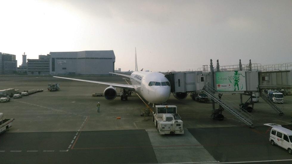 羽田空港のJAL